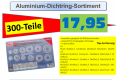 Alu-Dichtring Sortiment 300tlg